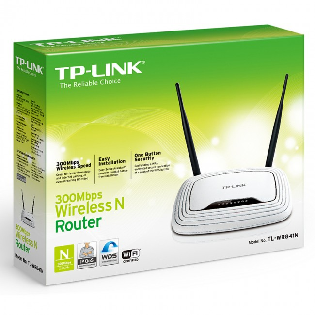 Wireless Router TL-WR841N TP-Link