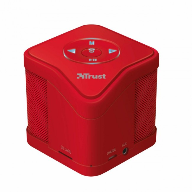 Speaker Trust Urban Weireless Red Bluetooth