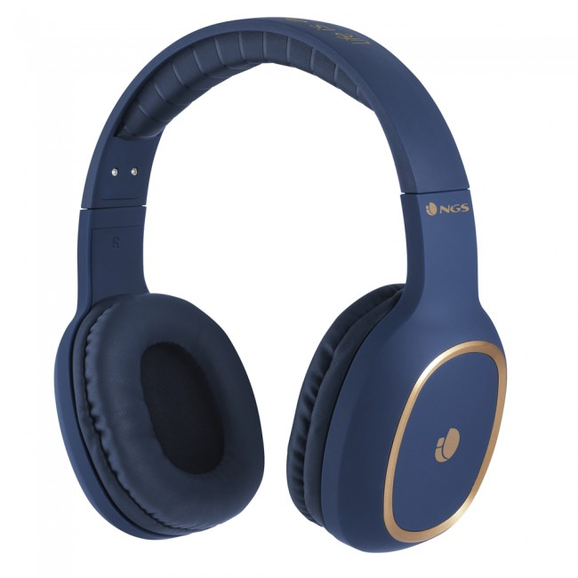 NGS Bluetooth Headphones Artica Envy Blue