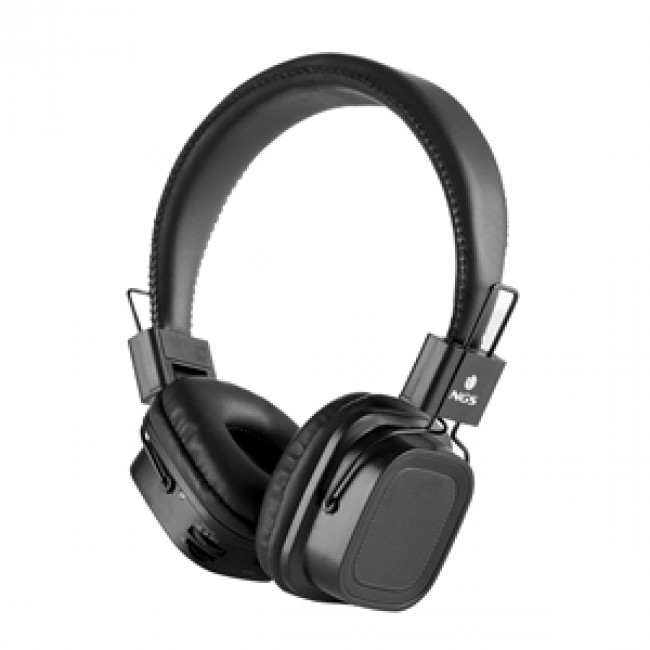 Headset Bluetooth NGS Black Artica