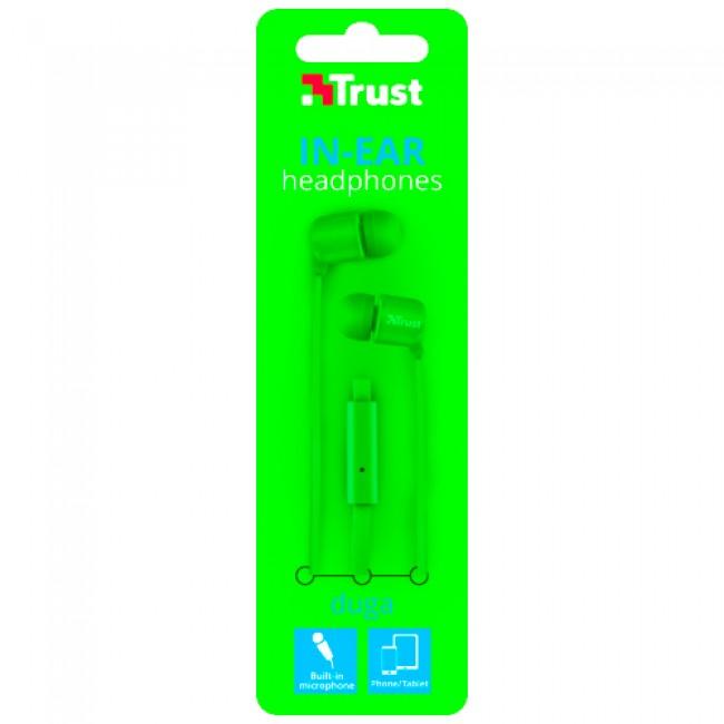 Trust Headphone Duga Green