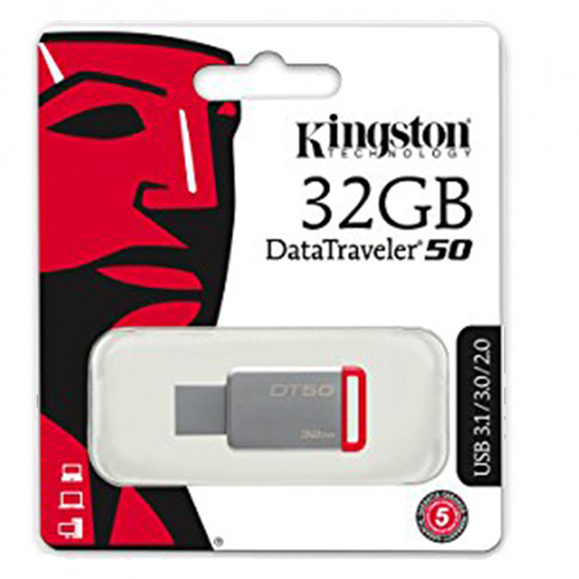 Kingston DataTraveler 50 32GB USB 3.1/3.0/2.0