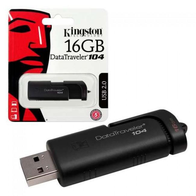 Kingston Datatraveler 16GB 104 Datatraveler 2.0