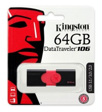 Kingston DataTraveler 106 64GB USB 3.1/3.0/2.0