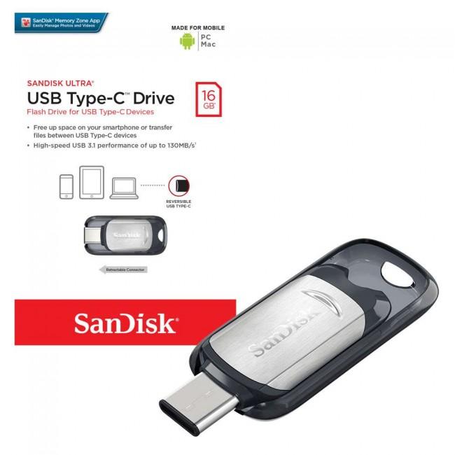 Sandisk pendrive 16GB USB Tipo C