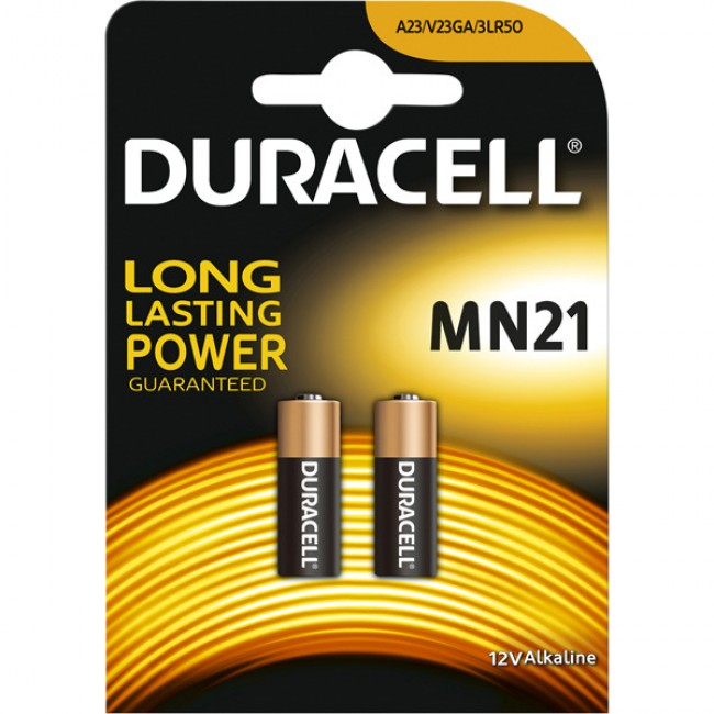 Batteries Duracell MN21 A23