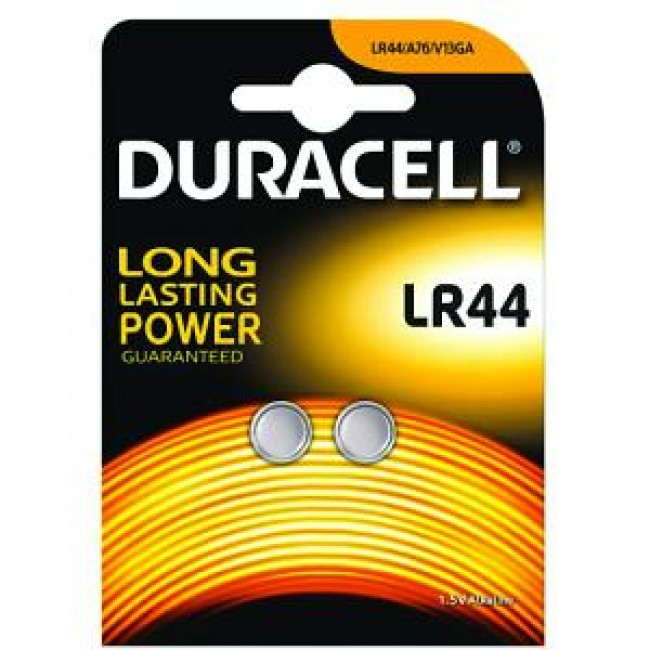 Batteries Duracell LR44