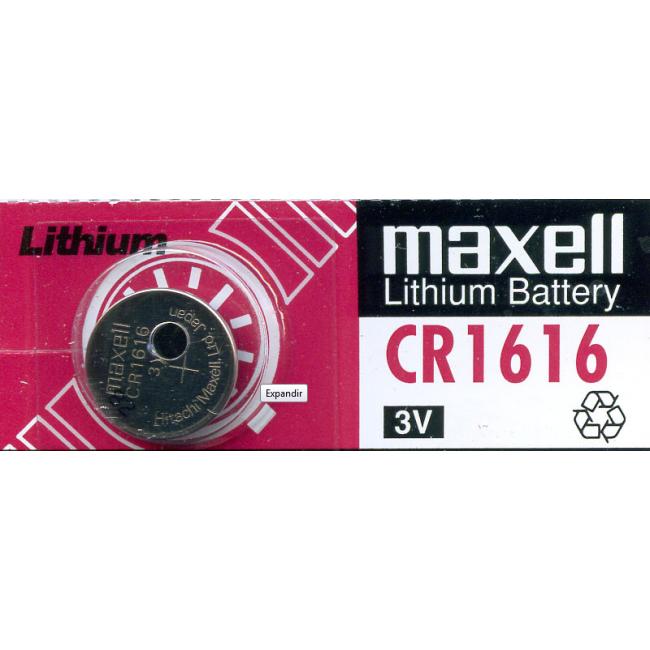 Maxell Pila Botón CR1616