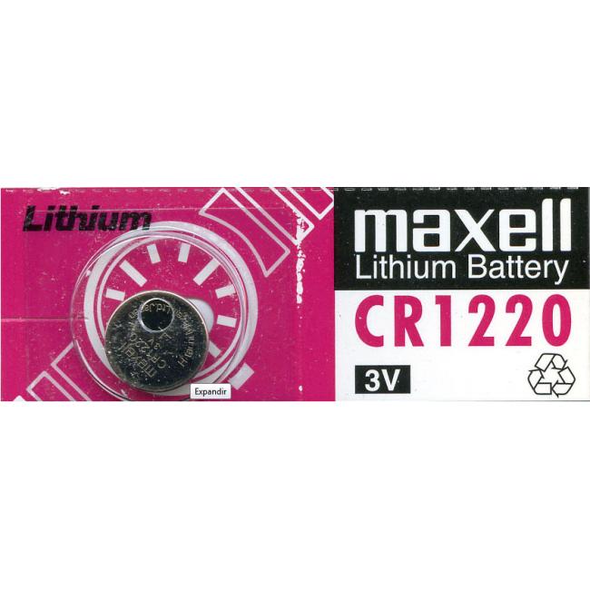 Maxell Pila Botón CR1220
