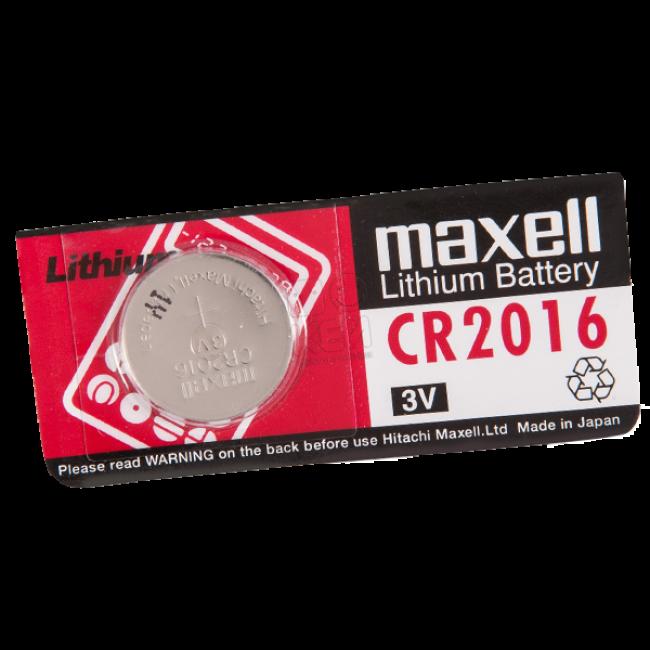 Pila Botón Maxell CR2016 individual