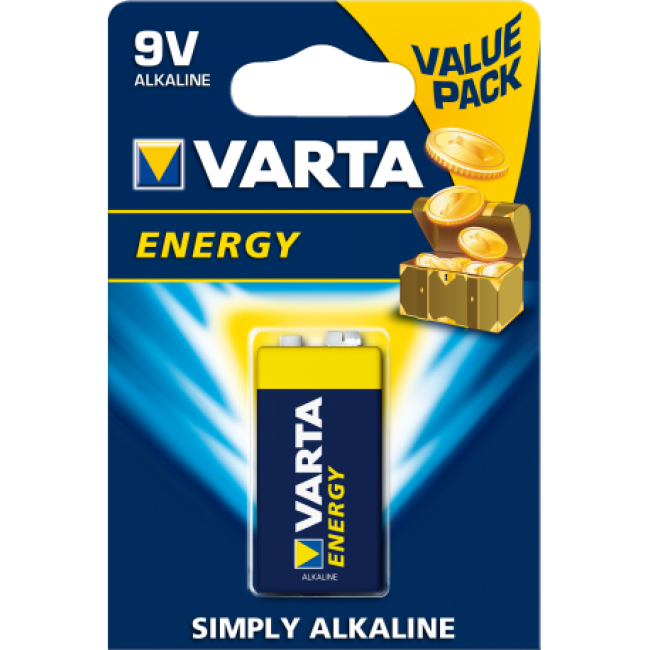Batteries 9V Varta