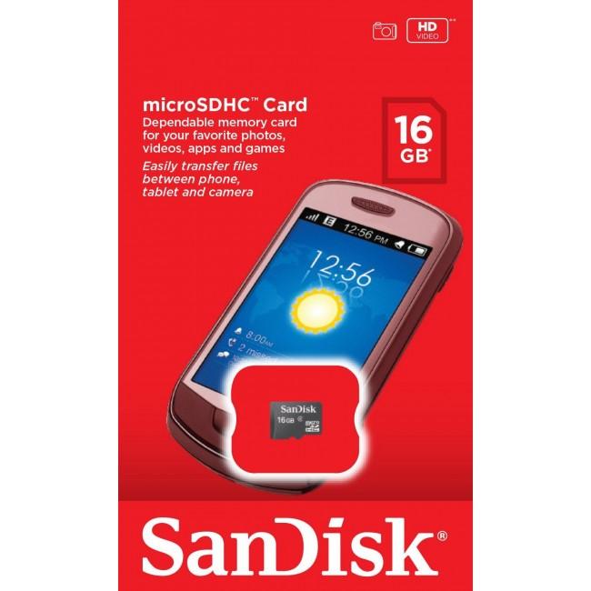 SanDisk Ultra microSDHC 16GB class 4