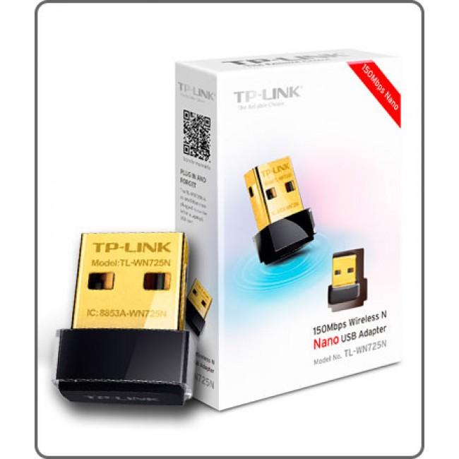 TP-Link Adaptador Mini USB Inalámbrico de 150 Mbps