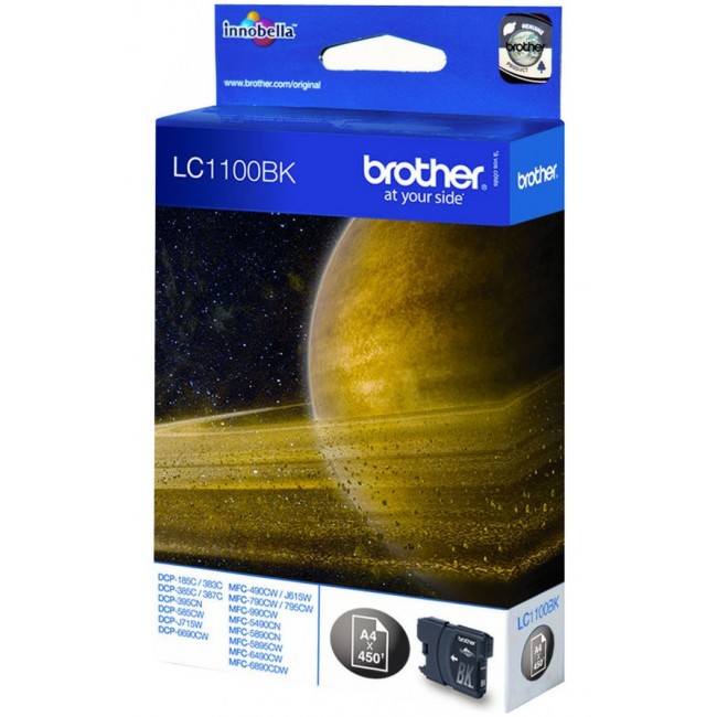 Brother Tinta LC1100 Negro