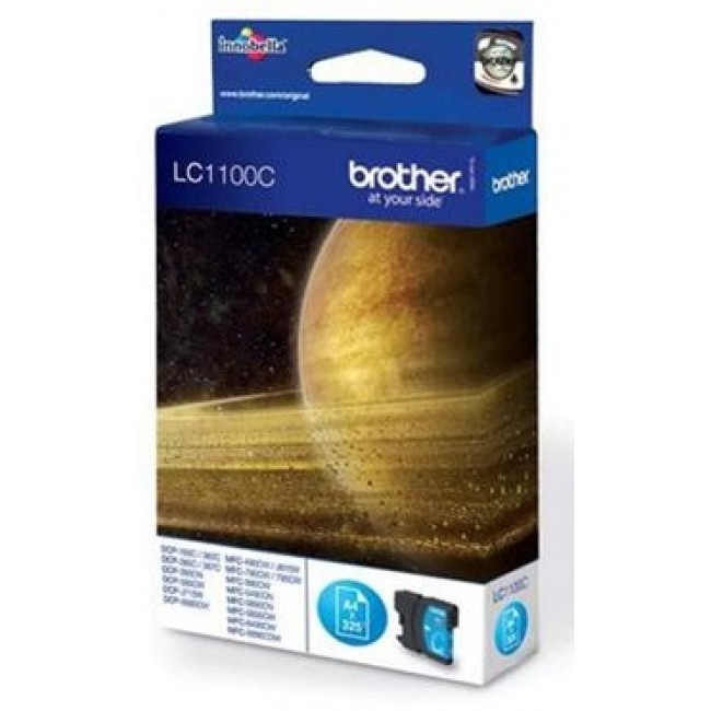 Brother Tinta LC1100 Cyan
