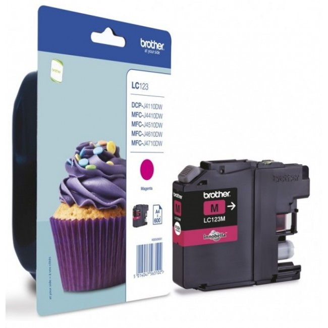 Brother Tinta LC123 Magenta