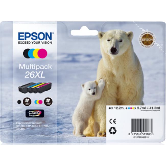 Epson Ink 26 XL Tri-color