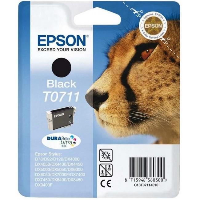 Epson Tinta T0711 Negro