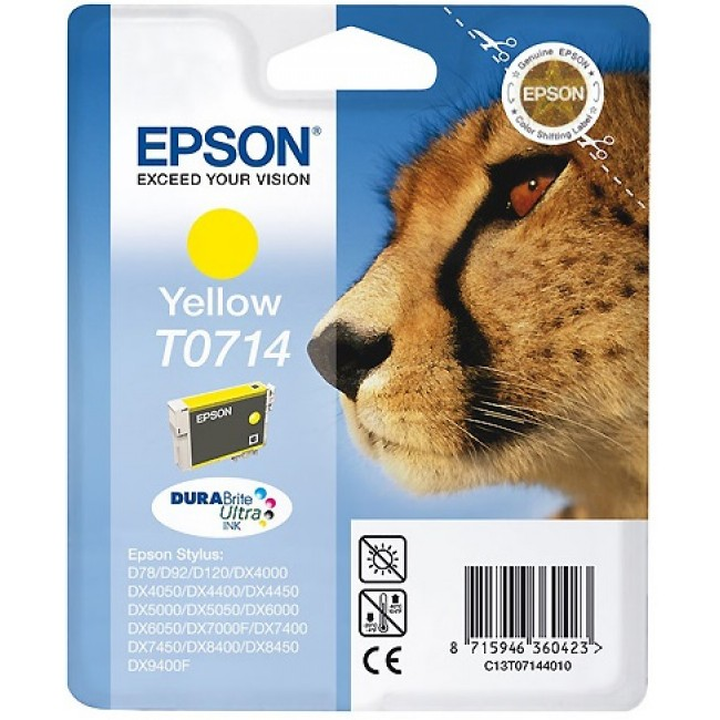 Epson Ink T0714 Yellow