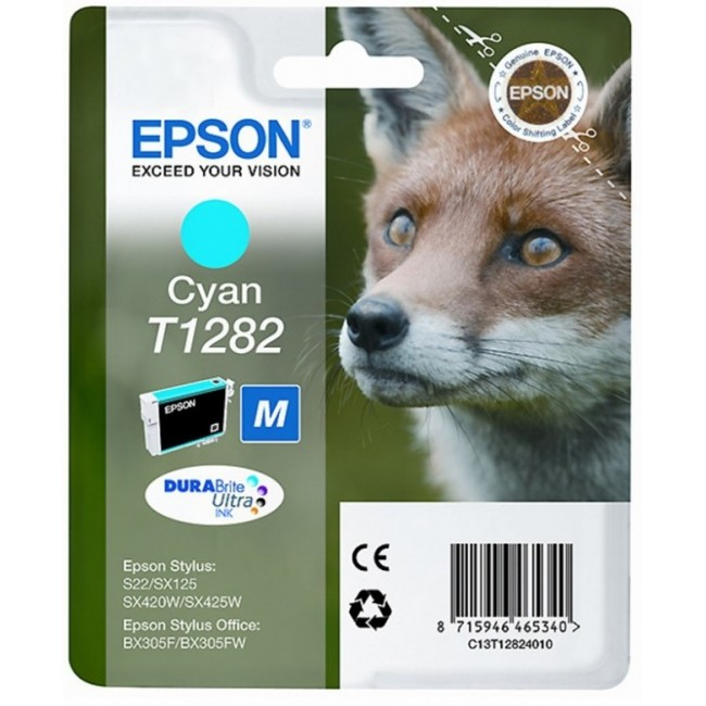 Epson Ink T1282 Cyan