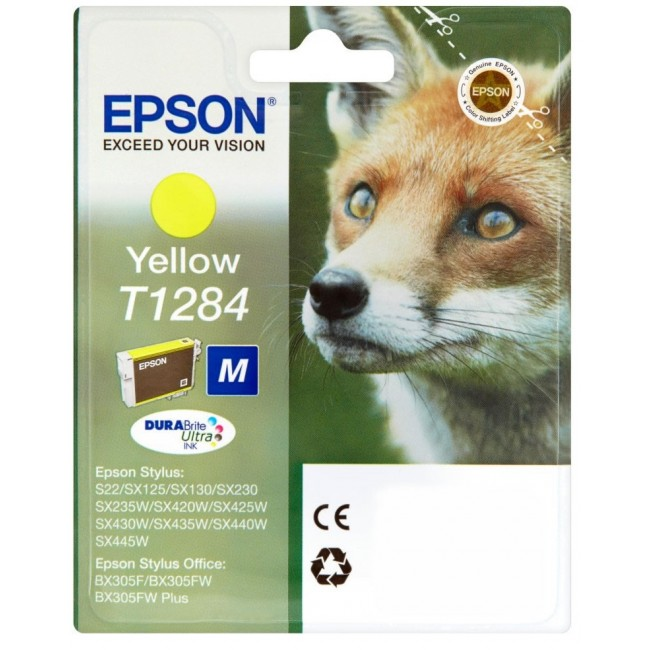 Epson Ink T1284 Yellow