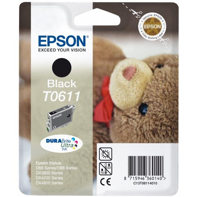 Epson Tinta T0611 Negro