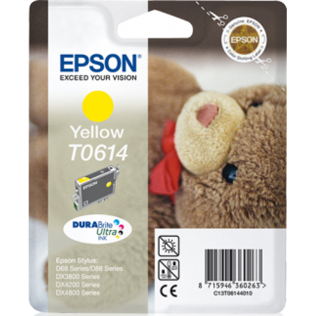 Epson Ink T0614 Yellow