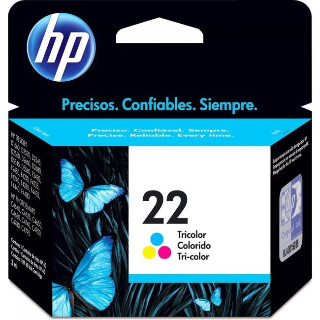 HP Tinta 22 Tri-color
