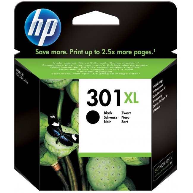HP Ink 301 XL Black