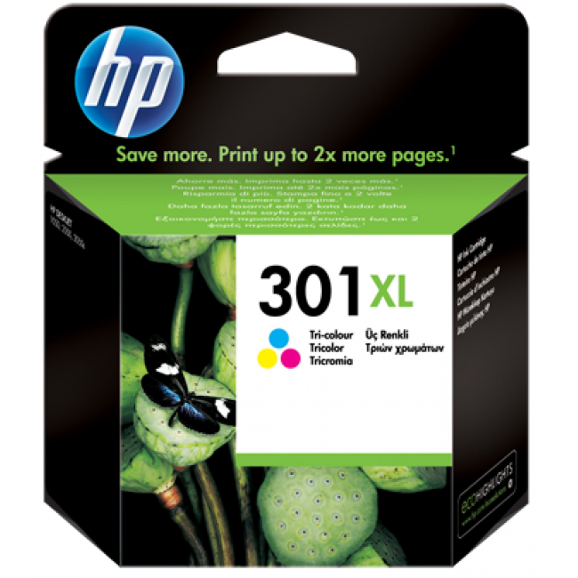 HP Ink 301 XL Tricolor