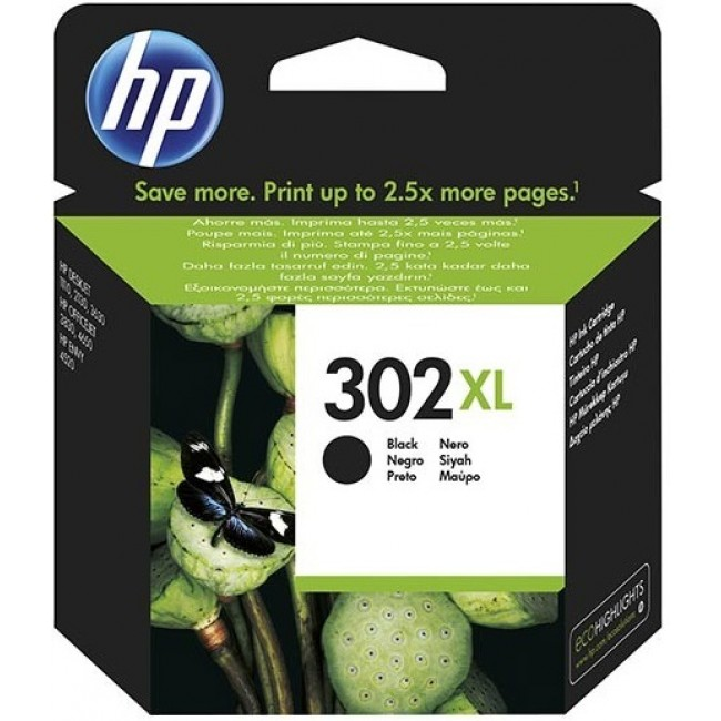 HP Ink 302 XL Black