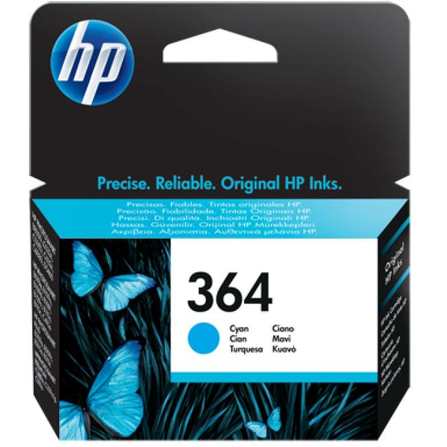 HP Tinta 364 Cian