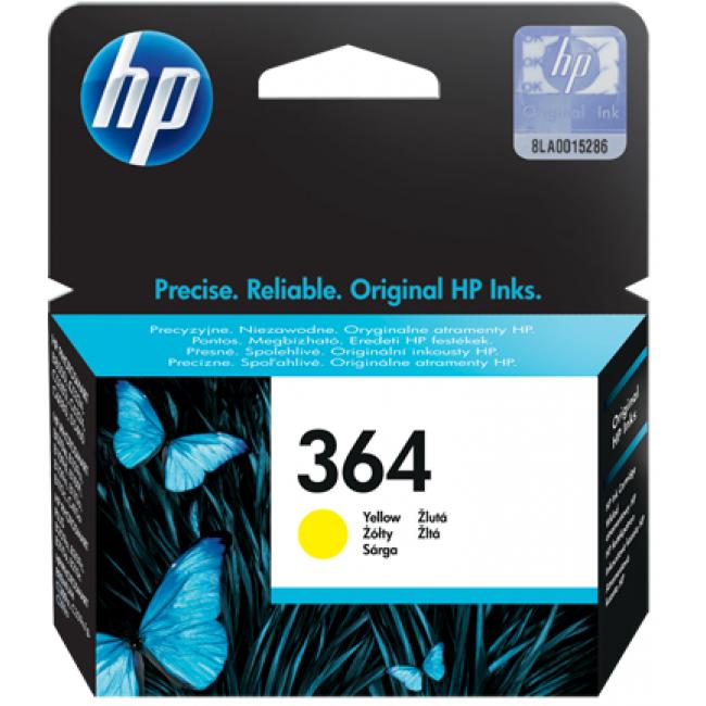 HP Tinta 364 Amarillo