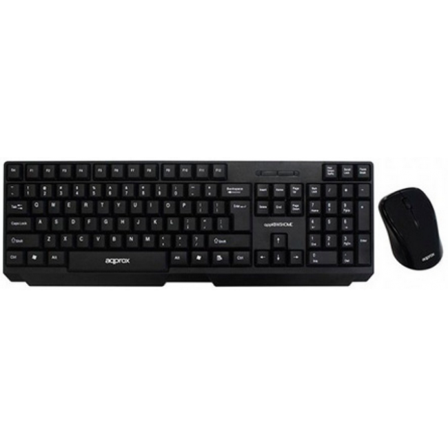 Approx Keyboard + Wireless Mouse Kit