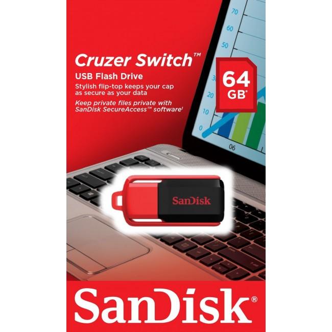 SanDisk Cruzer Switch 64GB USB 2.0