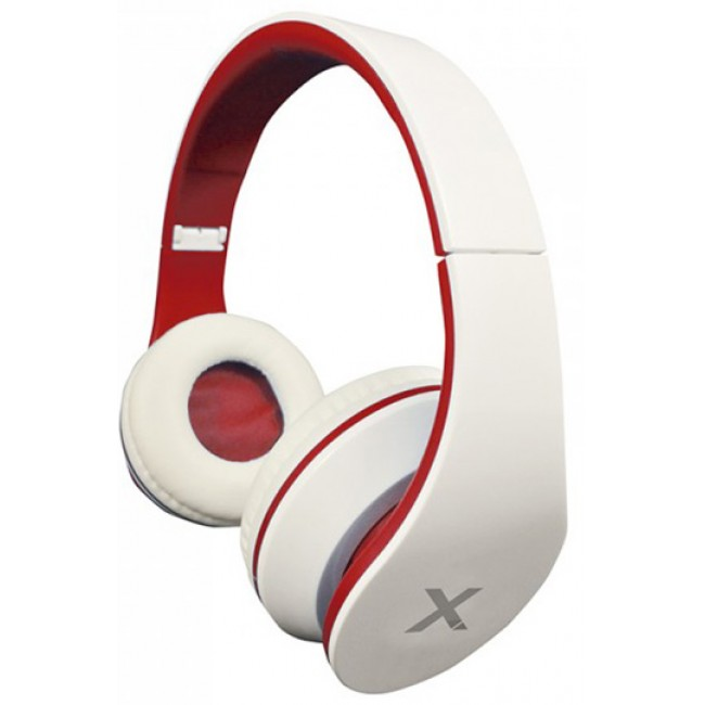 Approx DJ Jazz Headset Blanco/Rojo
