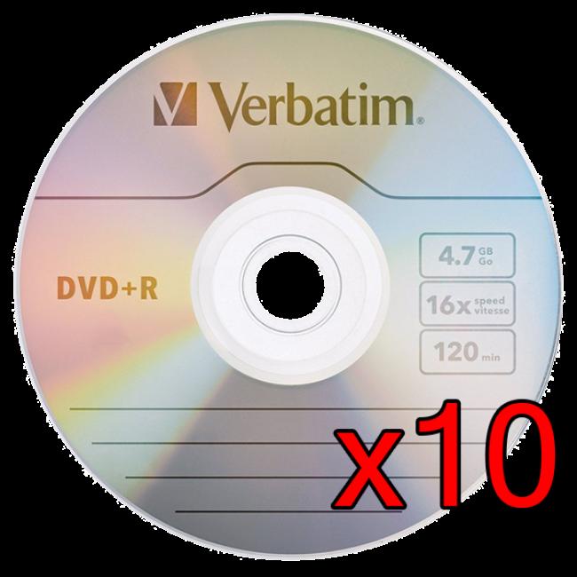 Verbatim DVD-R 10 Unidades