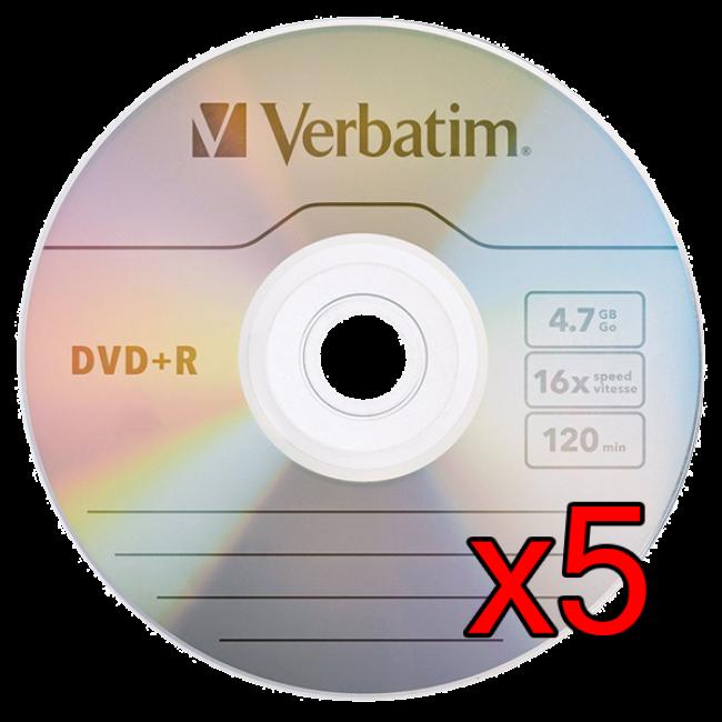 Verbatim DVD-R 5 Unidades