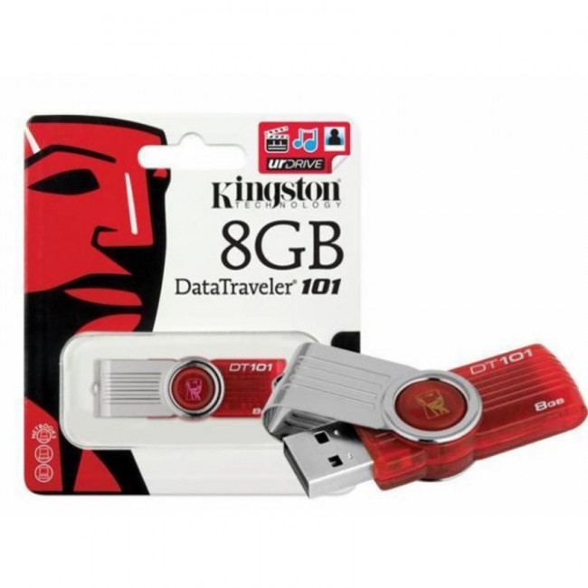 Kingston DataTraveler 101 8GB USB 2.0