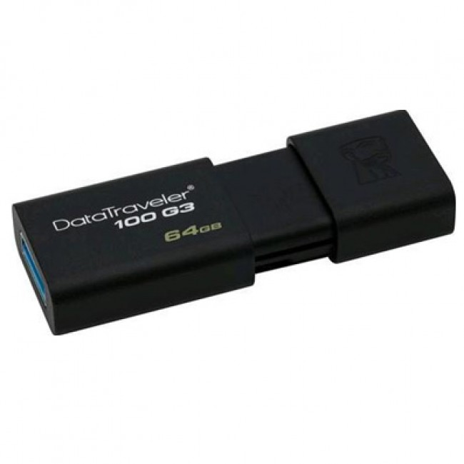 Kingston DataTraveler 100 64GB USB 3.1/3.0/2.0