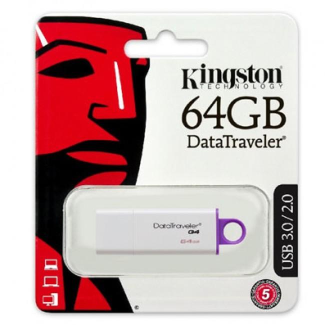 Kingston DataTraveler 64GB USB 3.1/3.0/2.0