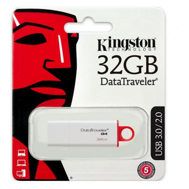 Kingston DataTraveler 32GB USB 3.1/3.0/2.0