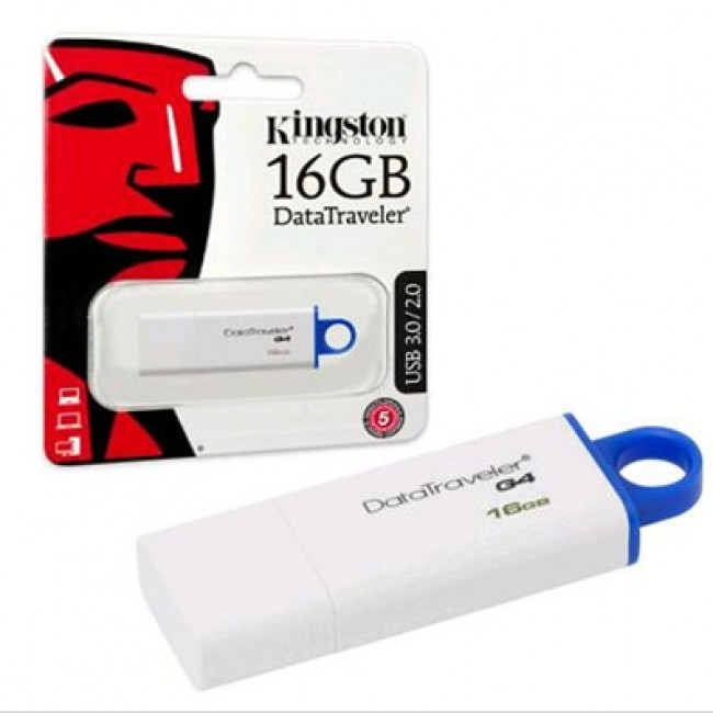 Kingston DataTraveler 16GB USB 3.1/3.0/2.0