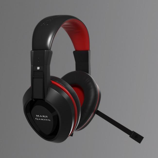 Auriculares con Micrófono MAH0+ Mars Gaming