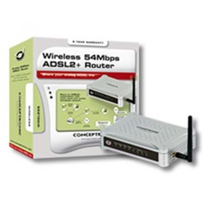 Router ADSL2+ y Modem CADSLR4+ Conceptronic