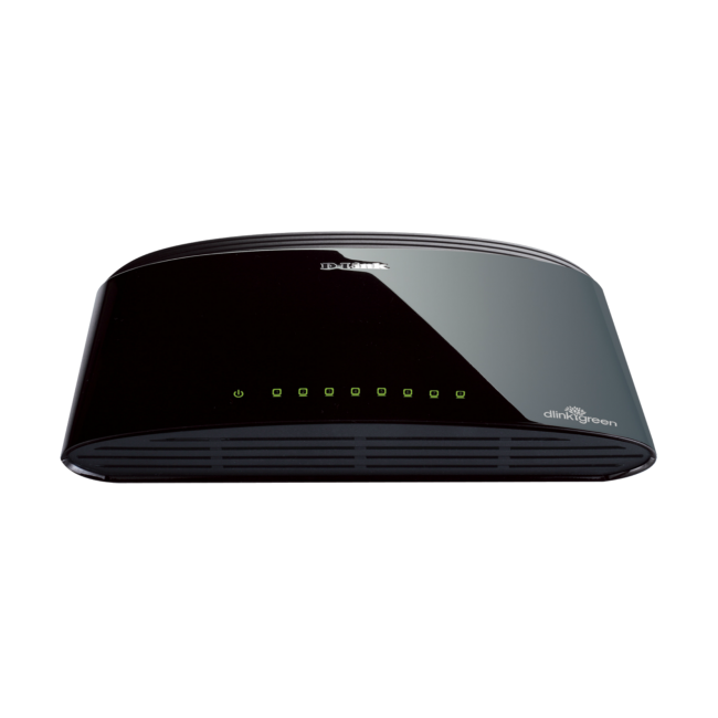 Switch 8 Ports 10 / 100Mbps D-Link