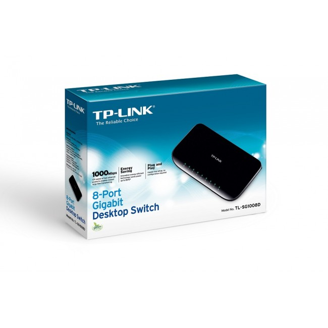 Switch for desktop with 8 ports Gigabit TP-LINK