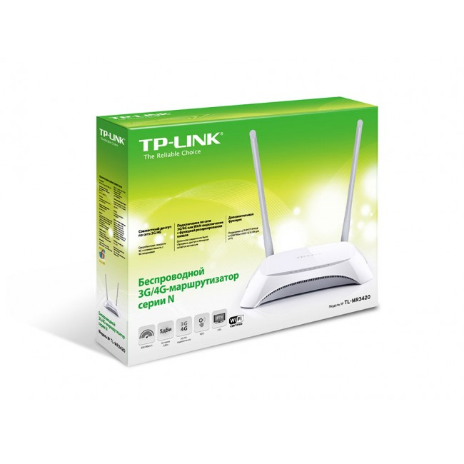 Wireless Router N 3G/4G TP-LINK